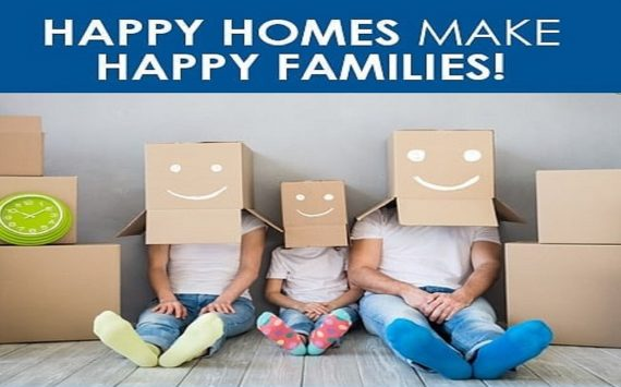 A Happy Home of Your Happy Family is Now Ready for Possession