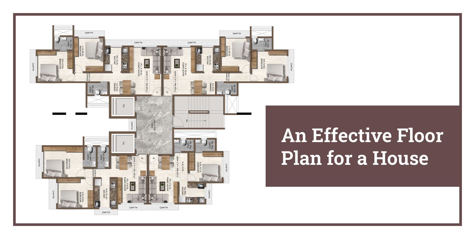 How to Come Up With an Effective Floor Plan for a House?