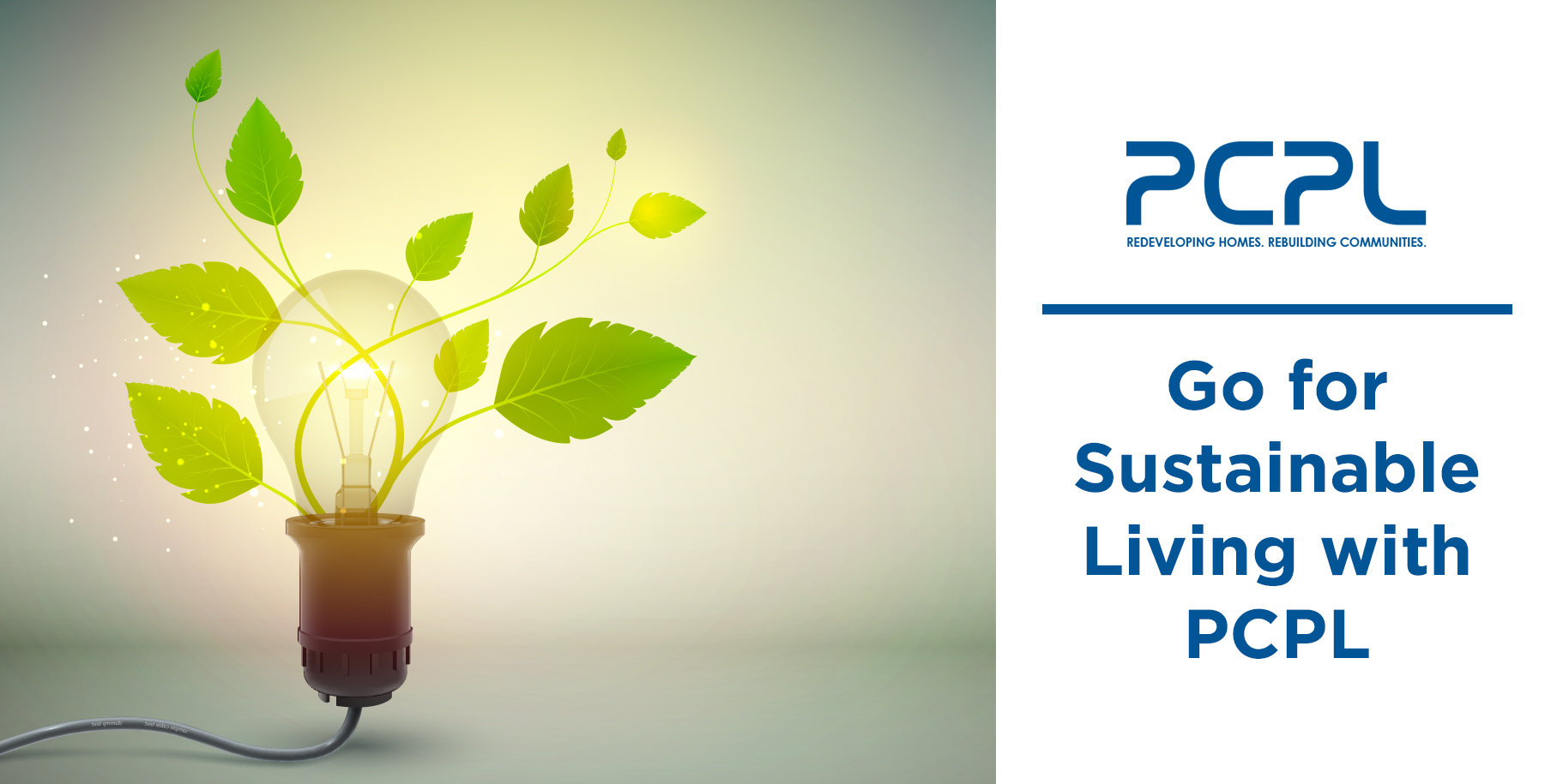 Go for Sustainable Living with PCPL