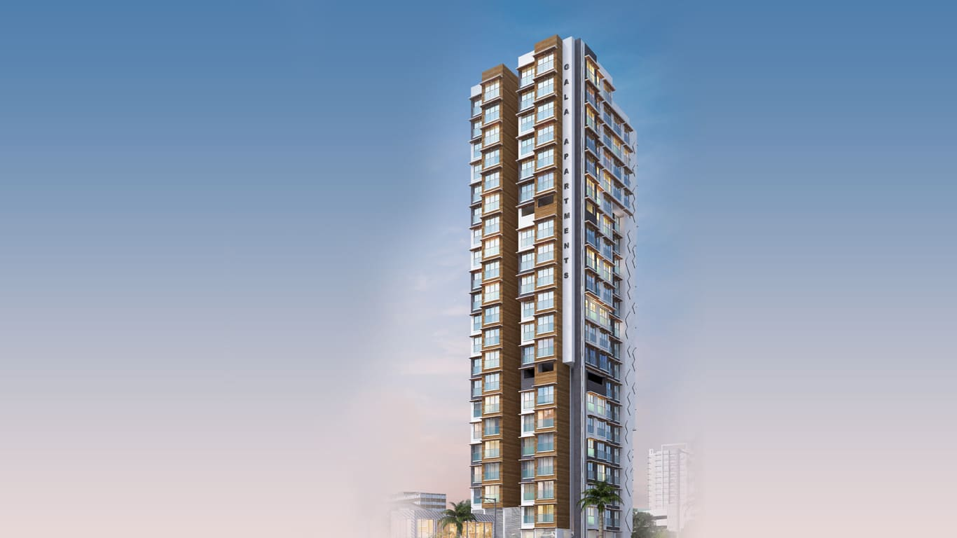2 and 3 BHK Luxurious Appartments in Malad East - Gala Apartments